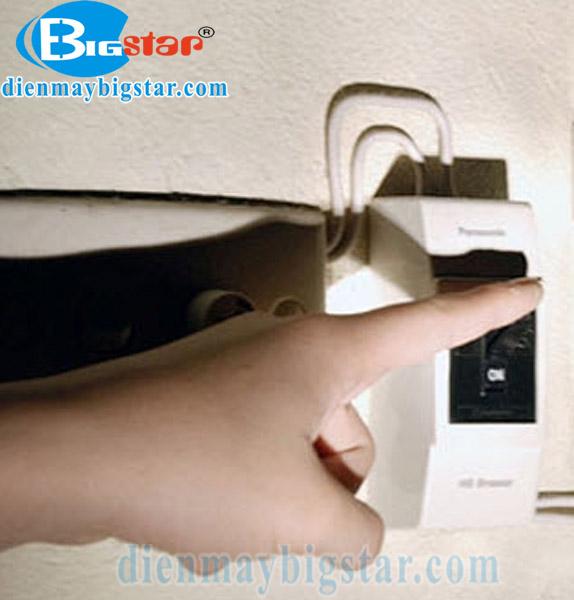 Sử dụng nguồn điện riêng cho tủ hấp giò chả
