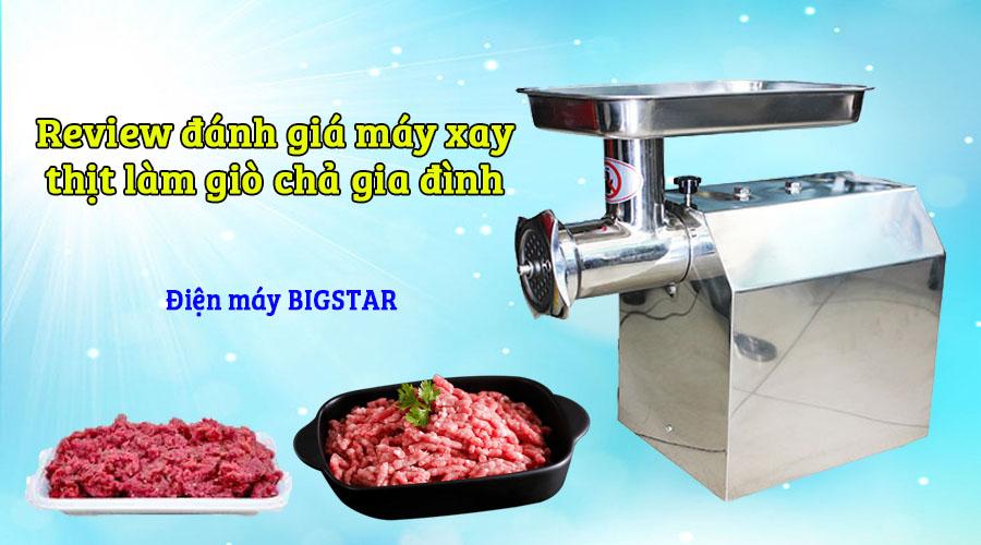 máy xay thịt làm giò chả gia đình bigstar
